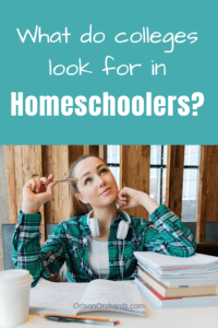college homeschoolers