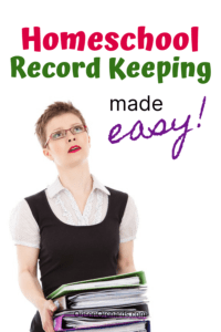 Homeschool Record Keeping