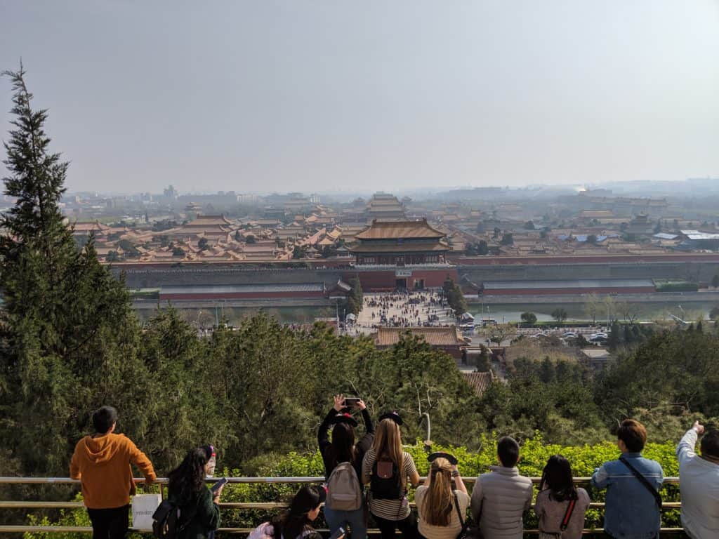 What to see in Beijing - Jingshan Park