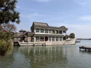Marble Boat at the Summer Palace in Beijing