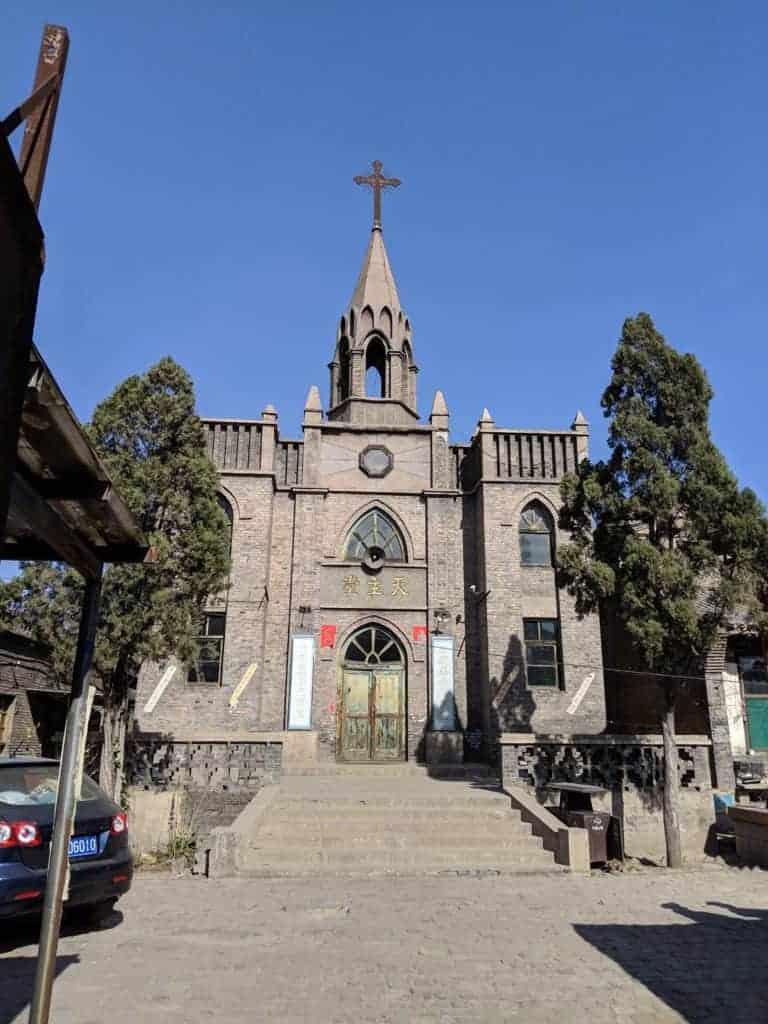 Catholic Church in Pingyao, China