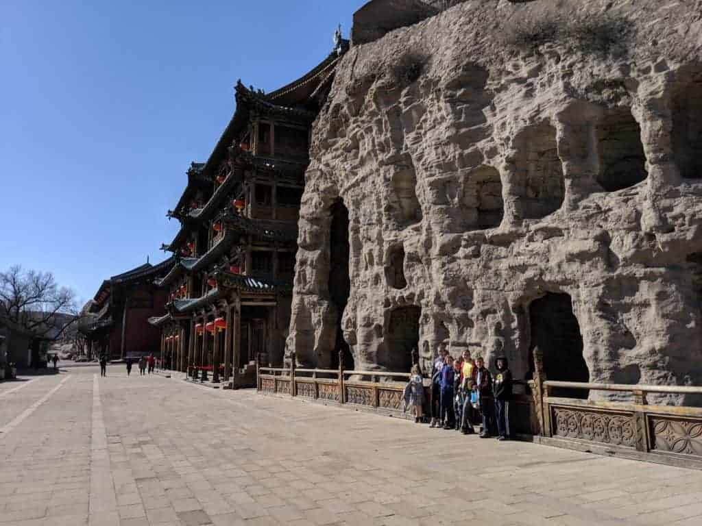 Yungang Grottoes; Datong, China