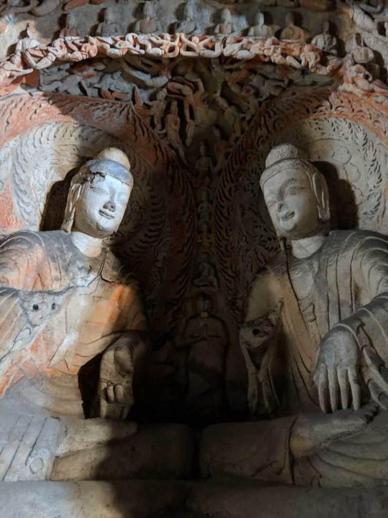 Yungang Grottoes; Datong, China