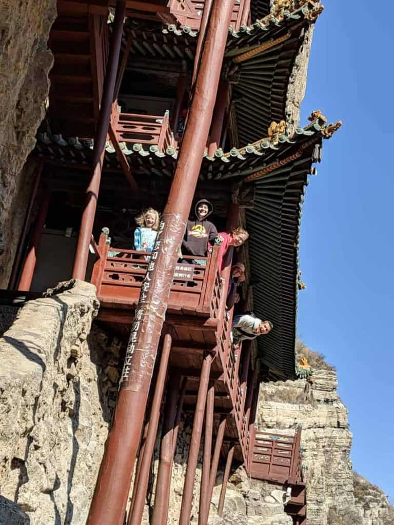 The Hanging Monastery in Datong, China