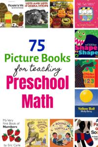 Preschool Math Picture Books