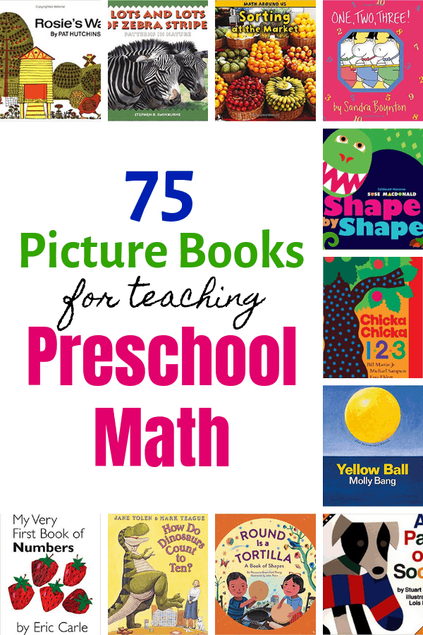 75 Picture Books for Teaching Preschool Math