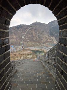 Jioshan Great Wall; Qinhuangdao, China