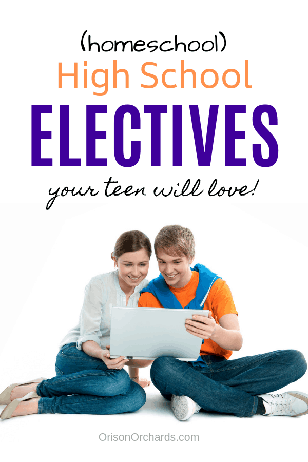 Homeschool High School Electives Your Teen Will Love!