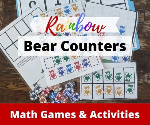 Rainbow Bear Counters