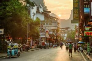 Yangshuo, China West Street