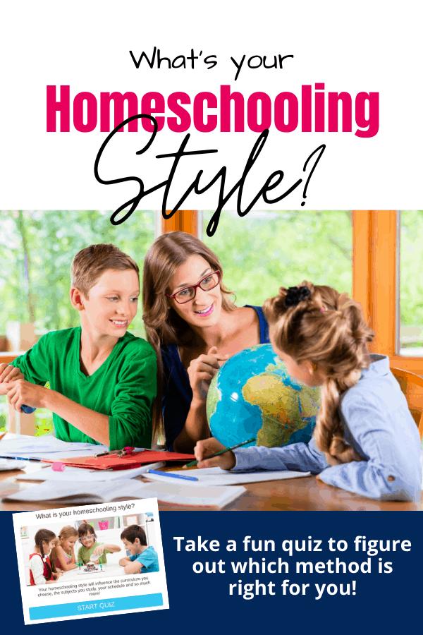 What's Your Homeschool Style? (Fun Homeschool Methods Quiz!)