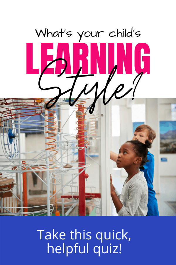 Simple and Sanity-Saving Tips for Big-Picture Homeschool Planning - Know your child's learning style.