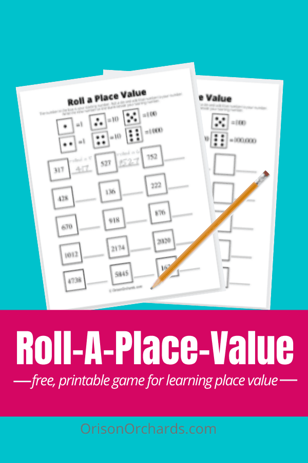 Roll A Place Value (Game)