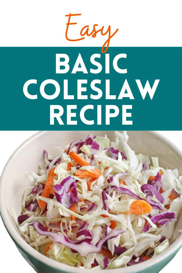 Basic Coleslaw Recipe for Pennies