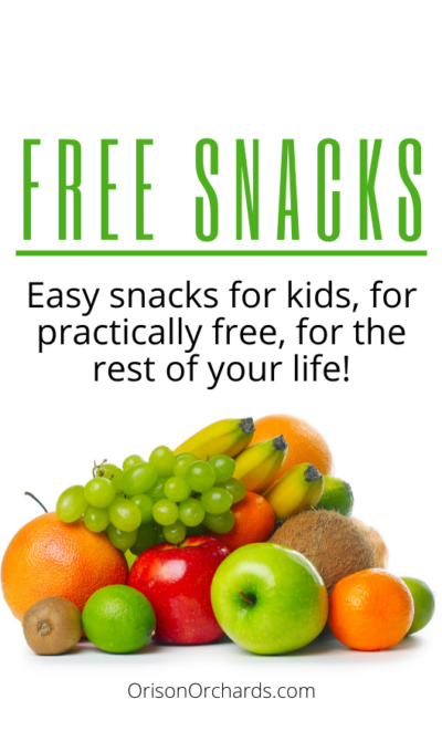 Cheap and Easy Snacks for Kids