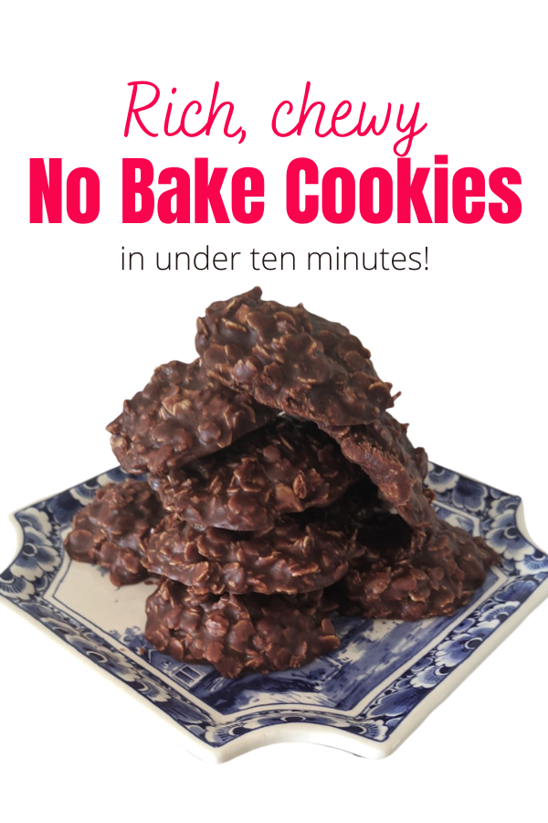 Chewy No-Bake Cookies