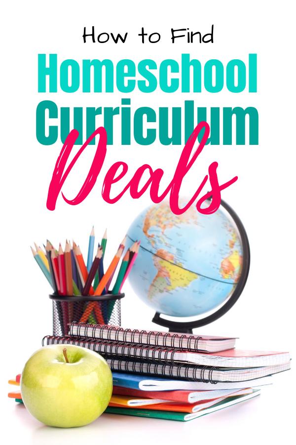 How to Find Homeschool Curriculum Deals