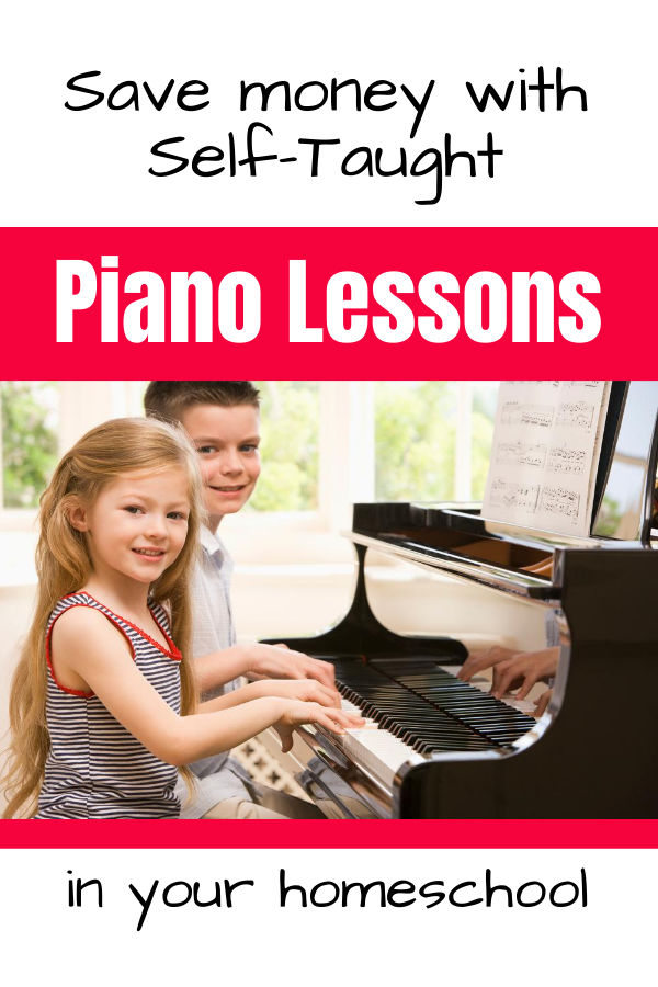 Self-Taught Homeschool Piano Lessons