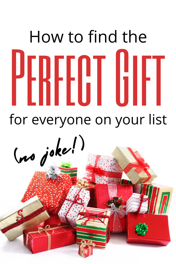 How to Find the Perfect Gift for Everyone on Your List