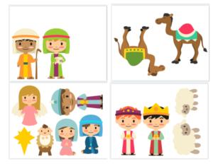 Kids Nativity set