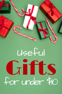 Useful Gifts for Under $10