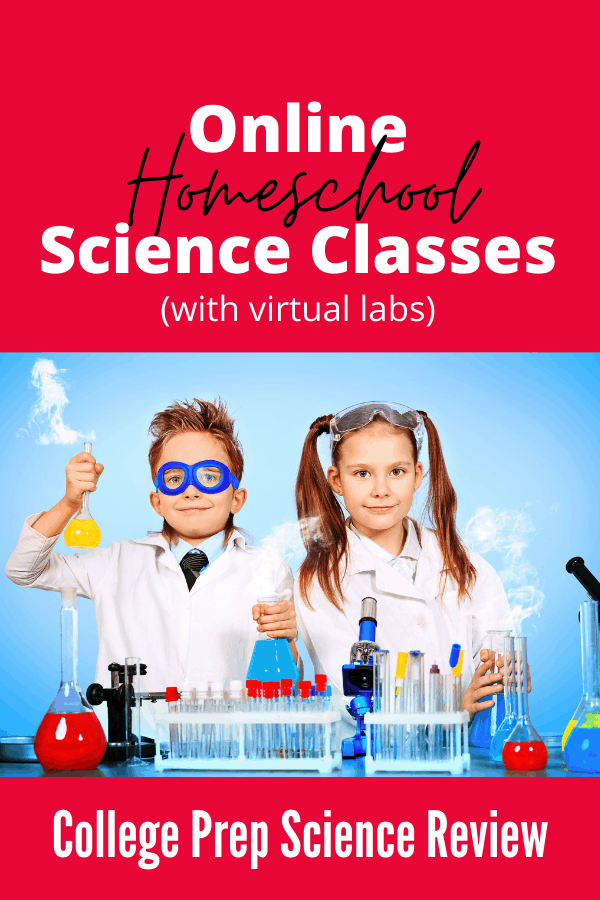 College Prep Science Review: Online Science Classes with Labs