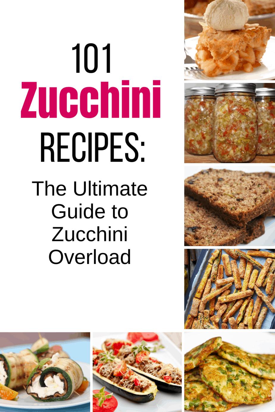 101 Zucchini Recipes: The Ultimate Guide to Zucchini Overload