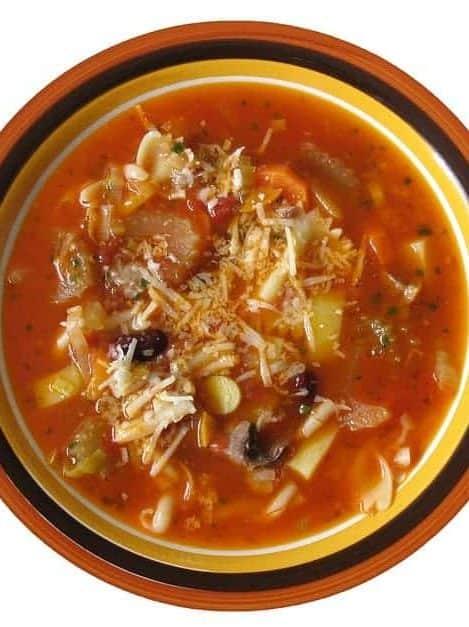 Minestrone Soup Cheap