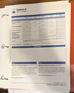 BookShark homeschool science curriculum